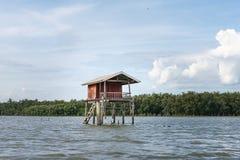 Коттедж на воде Стоковое Изображение