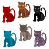 коты милые Стоковое фото RF