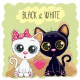 коты милые 2 бесплатная иллюстрация