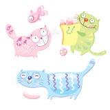 коты смешные бесплатная иллюстрация