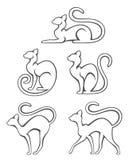 коты иллюстрация вектора