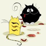 коты 2 иллюстрация штока