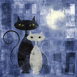 коты бесплатная иллюстрация