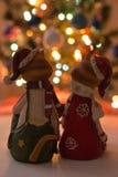 Коты Christmass Стоковое Изображение