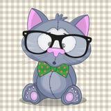 Кот битника бесплатная иллюстрация