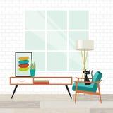 Кот в стуле Стоковые Изображения RF