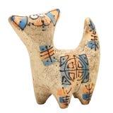 кот керамический стоковое изображение rf