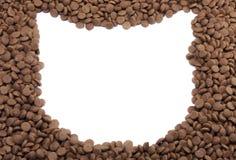 Кот рамки корма для домашних животных для пользы предпосылки Стоковая Фотография RF