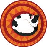 Кот спать Бесплатная Иллюстрация