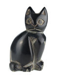 Кот статуи Стоковое фото RF