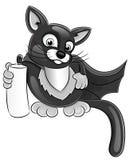 Кот шаржа супер. Стоковая Фотография RF