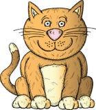 кот шаржа Стоковое фото RF