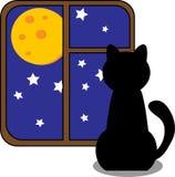 Кот шаржа. иллюстрация штока