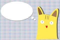 кот шаржа Стоковые Изображения RF