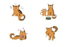 Кот иллюстрация вектора