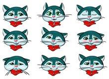 Кот Emoji Стоковые Фотографии RF