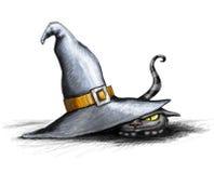 кот halloween Стоковая Фотография RF