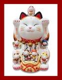 Кот plutus Японии стоковые изображения rf