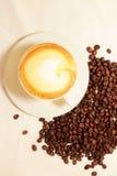 Кофеин горячий, оно ароматности espressoo чашки питья кофе часы ` кофе o ` s, я люблю Coffe, доброе утро, кофе питья людей Стоковое фото RF