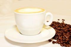 Кофеин горячий, оно ароматности espressoo чашки питья кофе часы ` кофе o ` s, я люблю Coffe, доброе утро, кофе питья людей Стоковое Фото