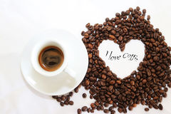 Кофеин горячий, оно ароматности espressoo чашки питья кофе часы ` кофе o ` s, я люблю Coffe, доброе утро, кофе питья людей Стоковые Фото
