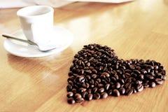 Кофеин горячий, оно ароматности espressoo чашки питья кофе часы ` кофе o ` s, я люблю Coffe, доброе утро, кофе питья людей Стоковое Изображение