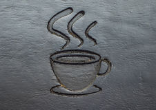 Кофейная чашка высекает Стоковые Фото