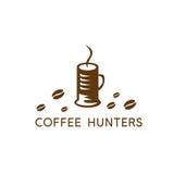 Кофейная чашка в форме дизайна вектора collet бесплатная иллюстрация