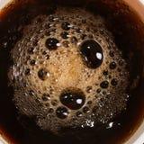 кофейная чашка горячая Взгляд сверху Стоковая Фотография RF