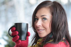 кофейная чашка горячая Стоковые Фото