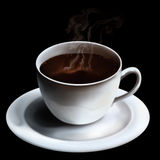 кофейная чашка горячая Стоковое Изображение