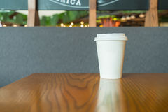 кофейная чашка горячая Стоковая Фотография