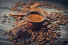 кофейная чашка горячая Стоковые Фотографии RF