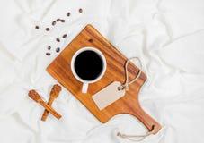 кофейная чашка имея Стоковое Изображение RF