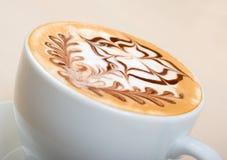 кофейная чашка капучино Стоковые Фотографии RF