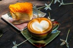 Кофейная чашка, кофейная чашка в кофейне Стоковое Изображение