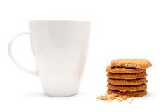 кофейная чашка печениь Стоковое Фото