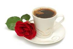 кофейная чашка подняла Стоковая Фотография RF