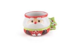 Кофейная чашка рождества милая и прелестная Стоковое Фото