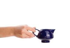 Кофейная чашка с абстрактным белым паром Стоковые Изображения