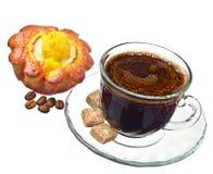 кофейная чашка торта Стоковые Изображения RF