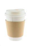 кофейная чашка устранимая Стоковая Фотография RF