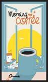 Кофейная чашка утра Стоковые Изображения