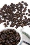 кофейная чашка фасоли Стоковое Изображение RF