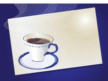 кофейная чашка Иллюстрация вектора