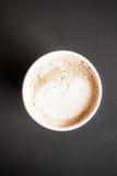 кофейная чашка latte Стоковая Фотография RF