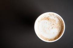 кофейная чашка latte Стоковое Изображение