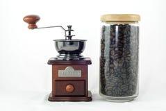 Кофейное зерно с механизмом настройки радиопеленгатора Стоковая Фотография