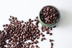 Кофейные зерна Африка Стоковое Изображение RF