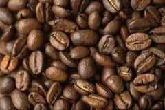 Кофейные зерна Брайна, макрос крупного плана для предпосылки и текстура иллюстрация штока